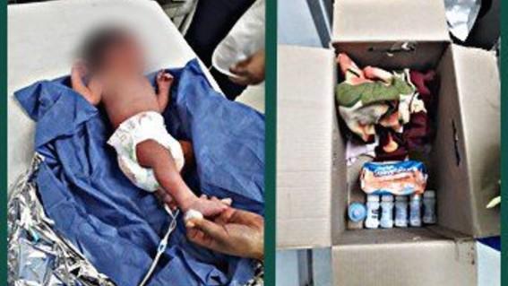abandonan a bebe recien nacido en coyoacan