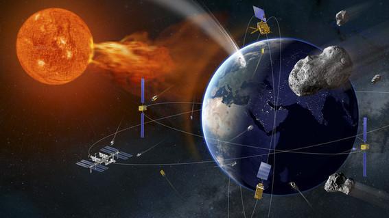 esa agencia espacial europea