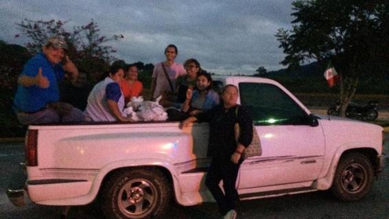 roban camioneta de las patronas