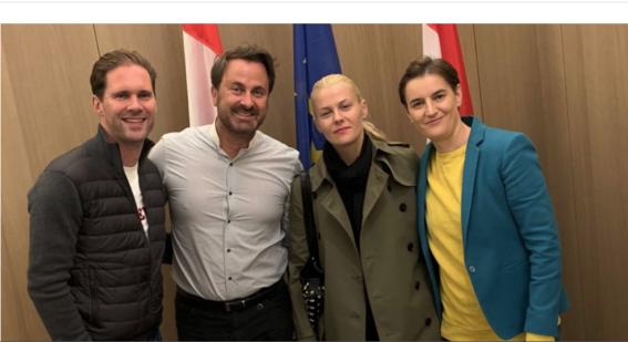 foto ministro gay luxemburgo xavier bettel ministra serbia ana brnabic