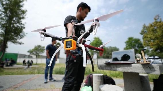 ipn dron victimas inundaciones sismos incendios