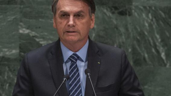 bolsonaro afirma que es falacia que amazonia sea patrimonio humanidad