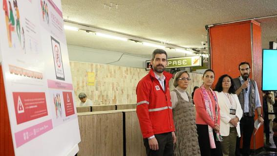 ademas de la campana las autoridades capitalinas anunciaron una serie de acciones para combatir la violencia de genero en la cdmx