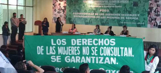 el congreso de oaxaca aprobo la despenalizacion del aborto en el estado ya existe el derecho de las mujeres a la libre eleccion y el matrimonio