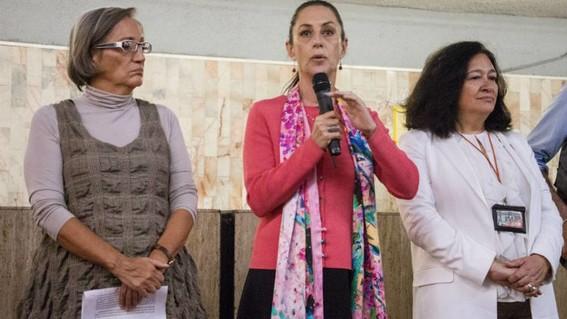 la secretaria de la mujer explico que trabajan en acciones inmediatas para brindar proteccion a las mujeres; dijo que los recursos en la cdmx se