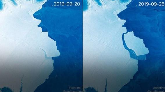 los cientificos aseguran que este fenomeno no se debe a los efectos del cambio climatico