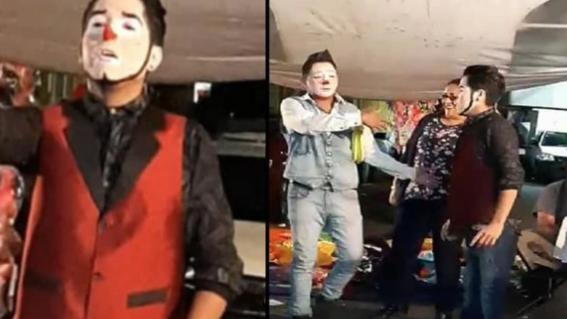 familiares de dos jovencitas de 14 y 16 anos de edad denunciaron a dos payasos se llevaron a las menores despues de dar un show infantil