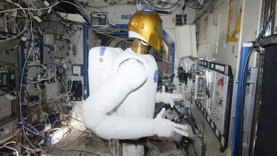 japon seria el tercer pais despues de eu y rusia en enviar a un robot humanoide a la estacion espacial
