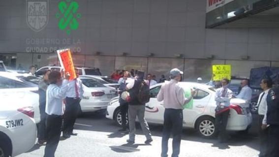 postura gobierno de la cdmx semovi paro taxistas