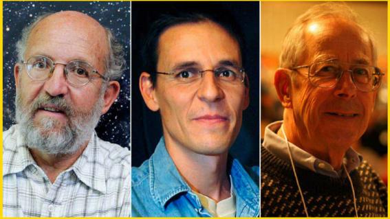 tres cosmologos ganan el nobel de fisica 2019