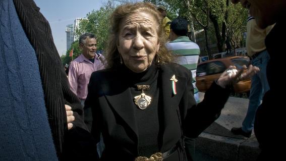 ¿quien es rosario ibarra de piedra ganadora de medalla belisario dominguez