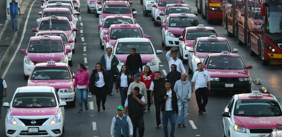 taxistas anuncian que marcharan el proximo lunes
