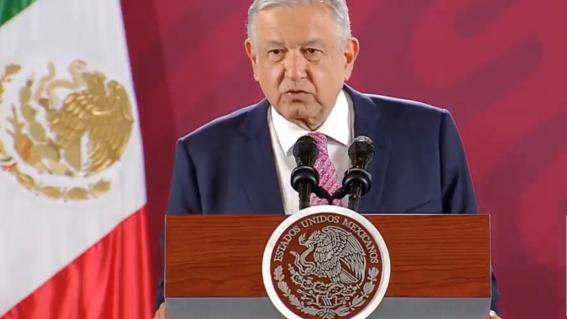 el presidente lopez obrador dijo que su gobierno seguira atendiendo las causas que originan la violencia en lugar de recurrir a las estrategias f