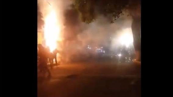 explosion pirotecnia xochimilco