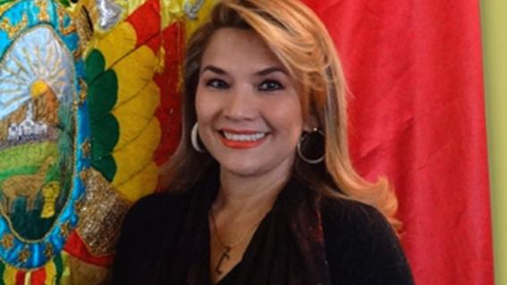 jeanine anez senadora presidente bolivia evo morales