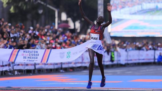 el maraton de la cdmx es el unico de america latina que cuenta con la distincion otorgada por world athletics