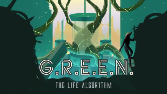lanza videojuego hecho por mexicanos green the life algorithm