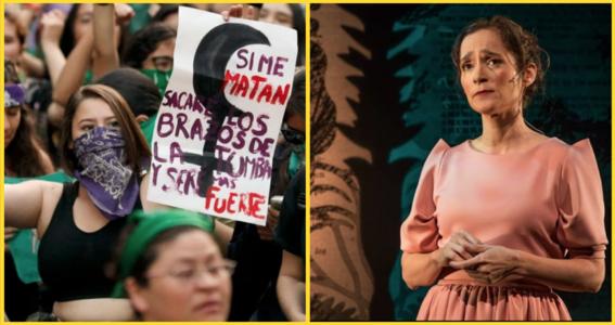 julieta venegas habla sobre la violencia de genero en mexico