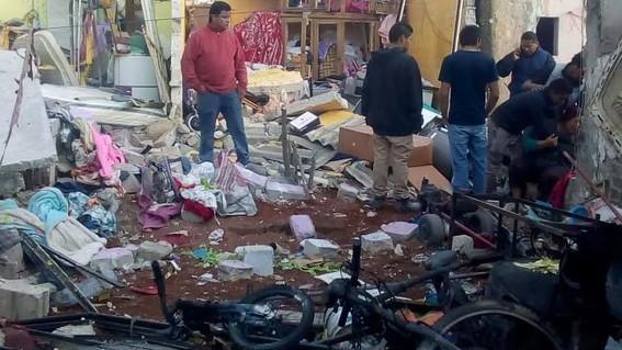 de acuerdo con los reportes oficiales del gobernador del estado de mexico en el taller de pirotecnia ubicado en tultepec murieron dos personas