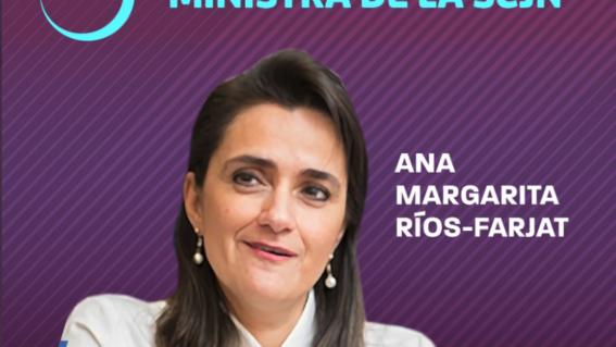margarita riosfarjat nueva ministra de la suprema corte de justicia de la nacion