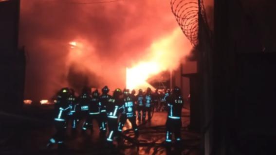 incendio subestacion electrica en iztapalapa