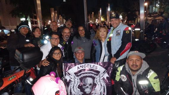 motociclistas protegen mujeres violencia cdmx