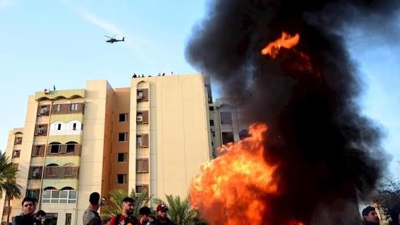 la explosion ocurre en medio de la tension provocada por el asesinato del general irani qasem soleimaini en un bombardeo de un dron de eu cerca d