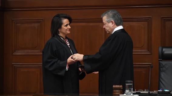 ministras suprema corte de justicia de la nacion