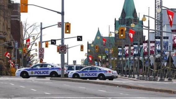 al menos un muerto y tres heridos dejo un tiroteo ocurrido en el centro de la ciudad canadiense de ottawa