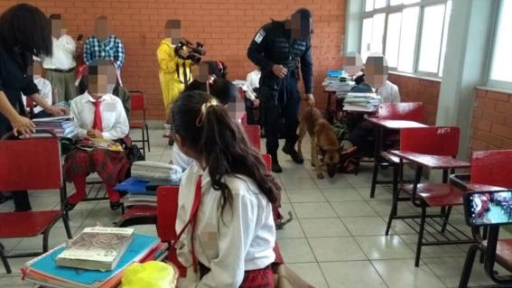 estos son los pasos en los que consiste la revision del operativo mochila segura que se aplica en instituciones educativas en mexico