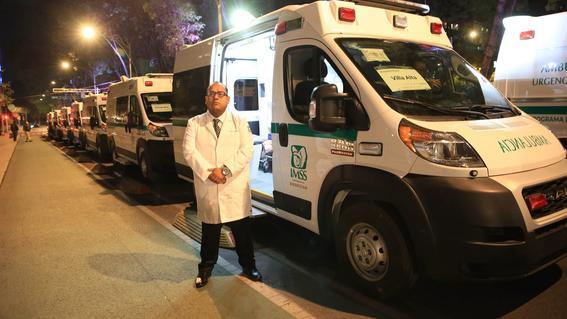 imss compra 20 ambulancias para atender a pueblos indigenas