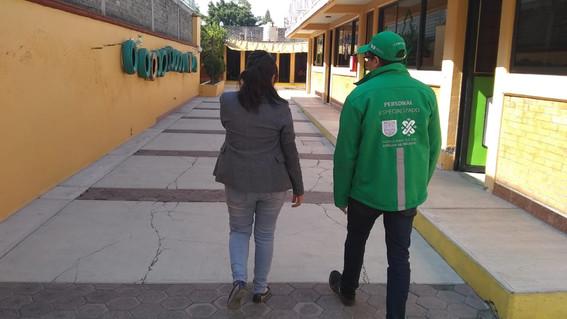 """participa invea en programa acciones por una """"escuela segura"""""""
