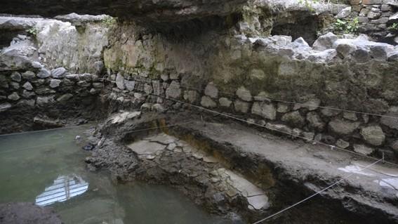 hallazgo en inmediaciones de la merced confirma ubicacion del barrio prehispanico de temazcaltitlan
