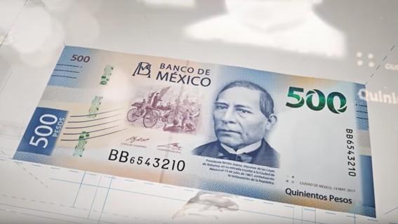 billete de 500 considerado el segundo mas bonito del mundo