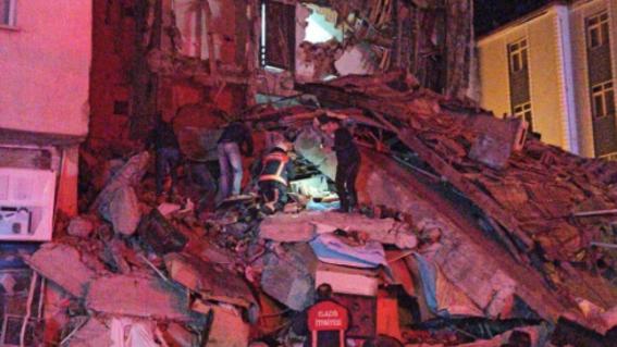terremoto sismo temblor en turquia