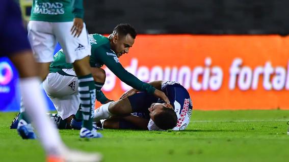Pachuca reveló el diagnóstico de la fractura de Eugenio Pizzuto
