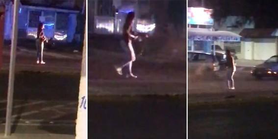 mujer roba arma larga dispara tiroteo aguascalientes