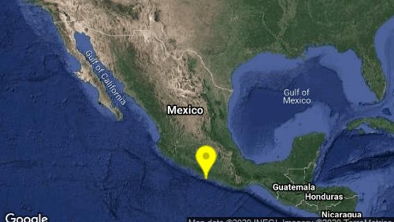 se registra sismo preliminar de 52 en coyuca de benitez