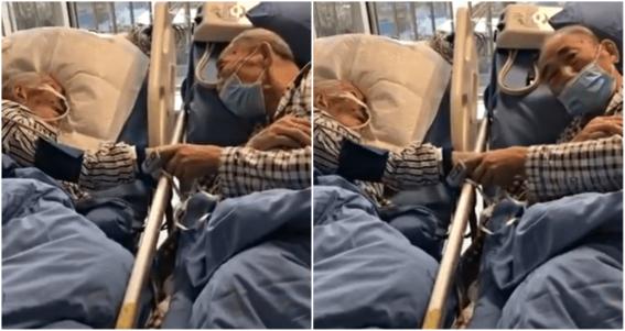 pareja ancianos coronavirus china