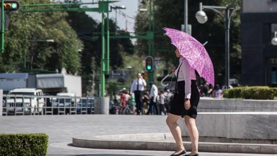 el lunes se esperan altas temperaturas en toda la ciudad de mexico asi que guarda tu ropa de invierno