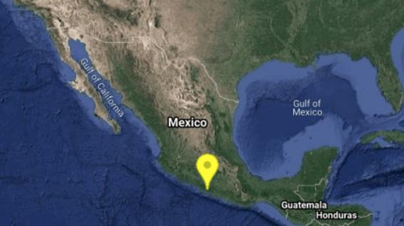 el reporte del servicio sismologico nacional indica que el sismo tuvo una magnitud de 50 y que se origino en el estado de guerrero