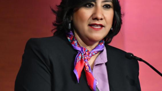 la secretaria de la funcion publica irma sandoval considera que las mujeres que se queden en casa el 9m estaran tentadas a lavar los platos y
