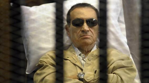 mubarak se vio forzado a abandonar el poder en medio de manifestaciones masivas contra su gobierno en el marco de la conocida como primavera ara