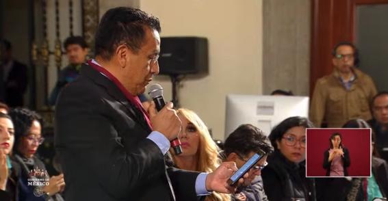 reportero pide que investiguen a quienes impulsan el paro de mujeres