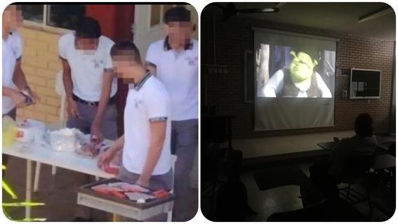 alumnos hacen carne asada en cetis 78 altamira ven shrek en uanl