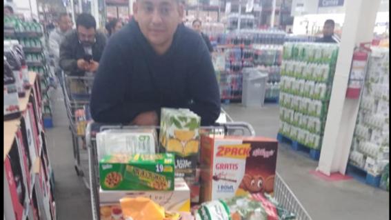 empresario mexicano regala despensa a sus empleados ante aislamiento por covid19