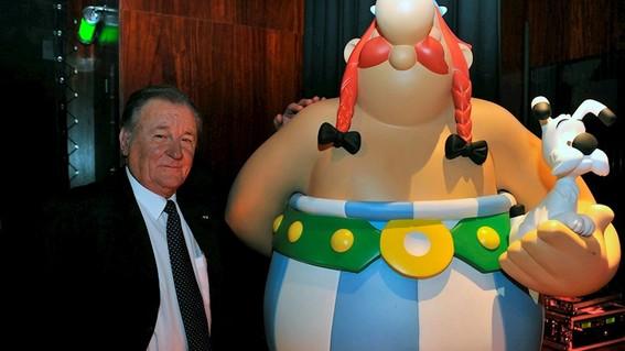 albert uderzo entro en la historia de los comics con asterix y obelix