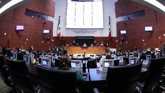 sesion del senado de la republica del 24 de marzo