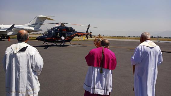 arquidiocesis de toluca vuelo helicoptero coronavirus