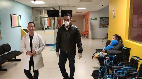 el gobernador omar fayad anuncio que tras realizarse los examenes medicos se confirmo que dio positivo a coronavirus